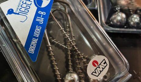 Гачки від VMC як основа для джиг-головок.