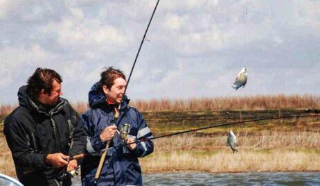 Місячний календар риболовлі на Квітень 2021 року.