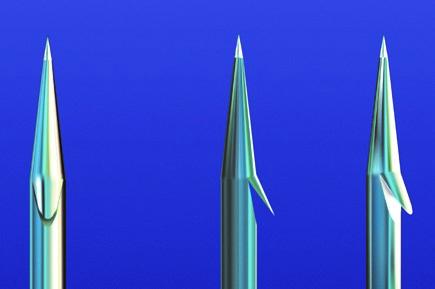 Технологія виробництва гачків французького бренду VMC. Частина шоста: Види заточування гачків та їх покриття.