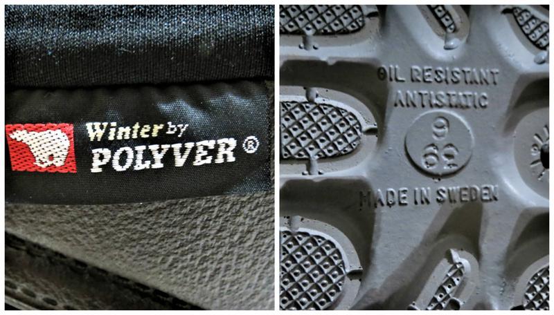 Polyver® - шведське взуття для екстримальних зимових умов!